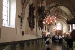 Inde i Sæby kirke