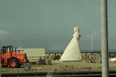 Skulpturen Fruen fra Havet