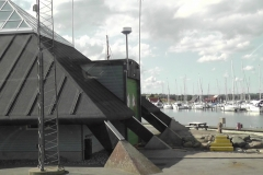Redningsstation på havnen