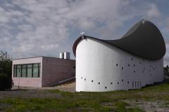 En lidt speciel kirke, som vi så på vejen til Skagen.