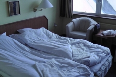 Vores værelse - ikke den vilde luksus, men ok